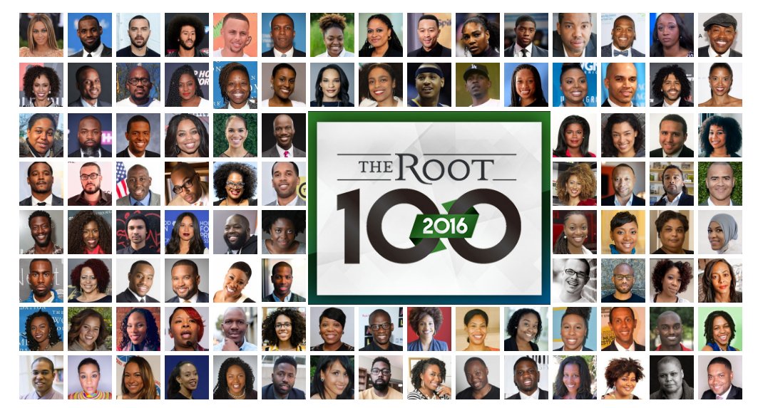 The Root 100                                                                                                                                        December 2016