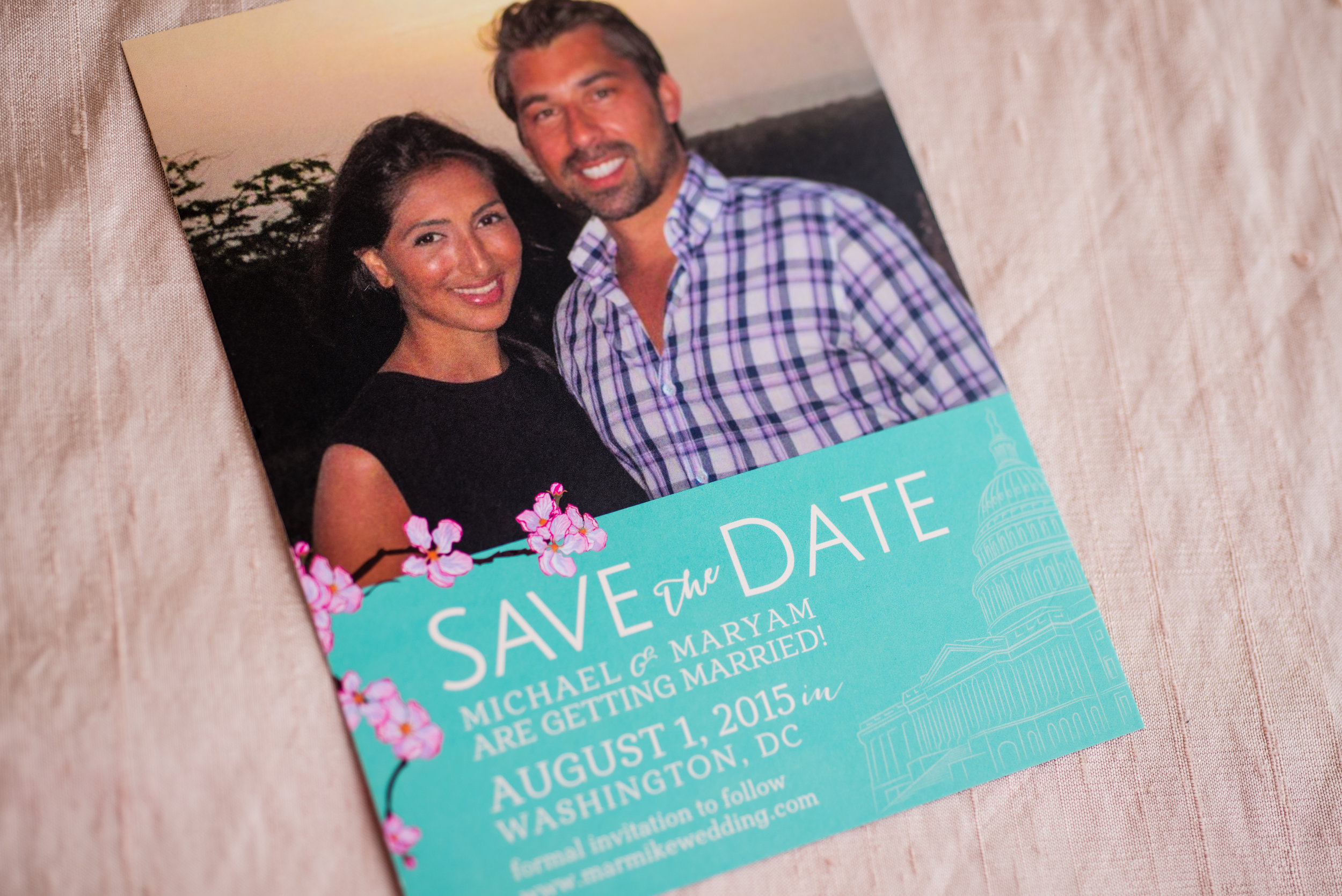 save the date Smoochie paper