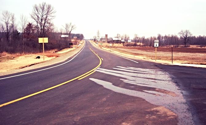 Waupaca County Highway X Reconstruction    Weyauwega, Wisconsin