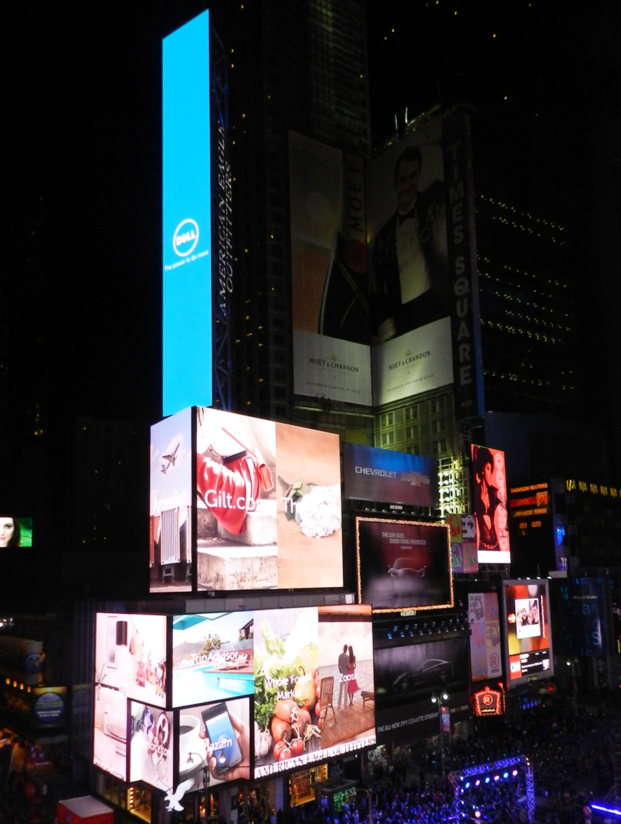 Digital Billboard OOH / Times Square