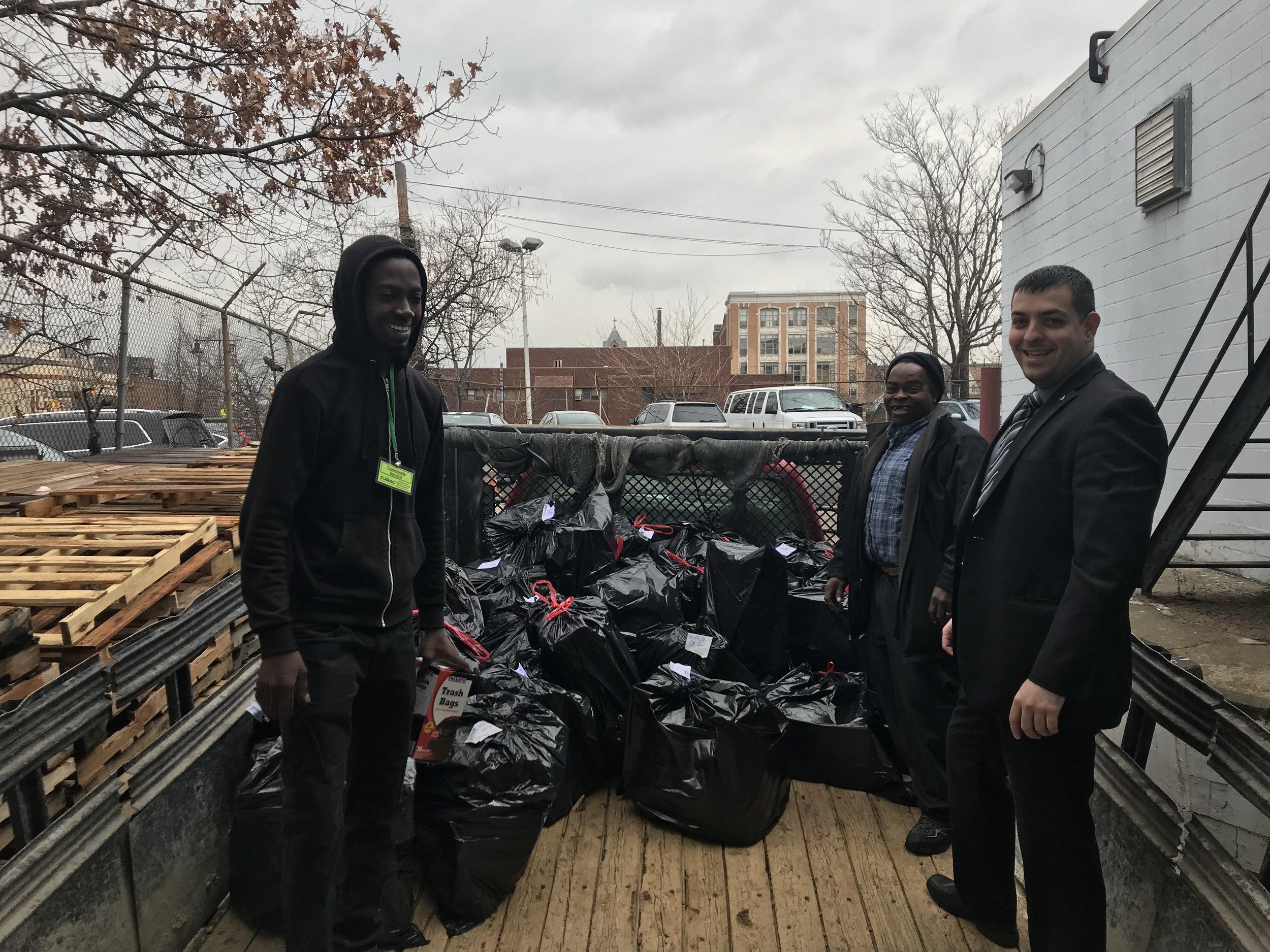 CUMAC donated a truck full of gifts