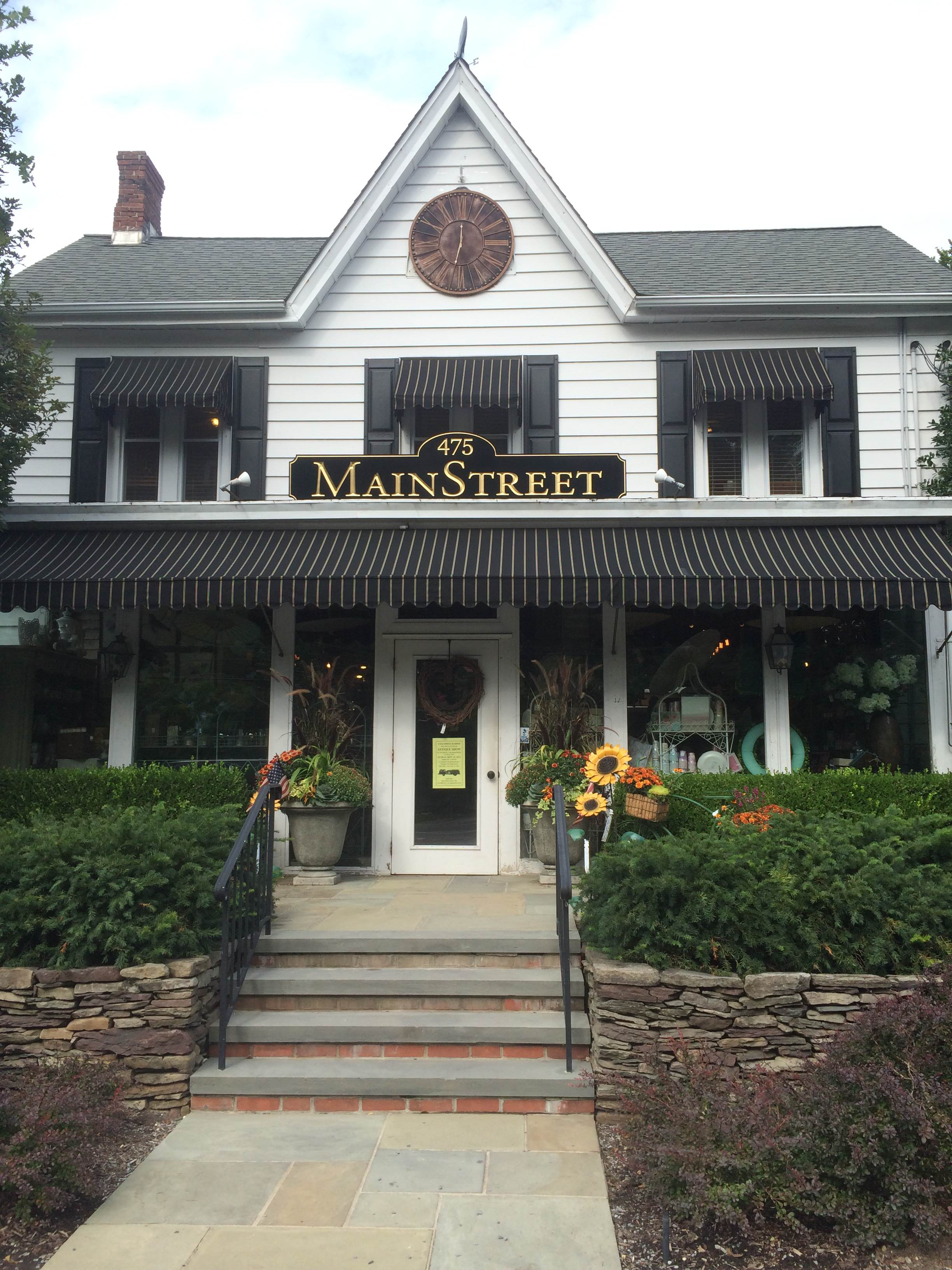 In between Huntington village and Cold Spring Harbor is Main Street Nursery.