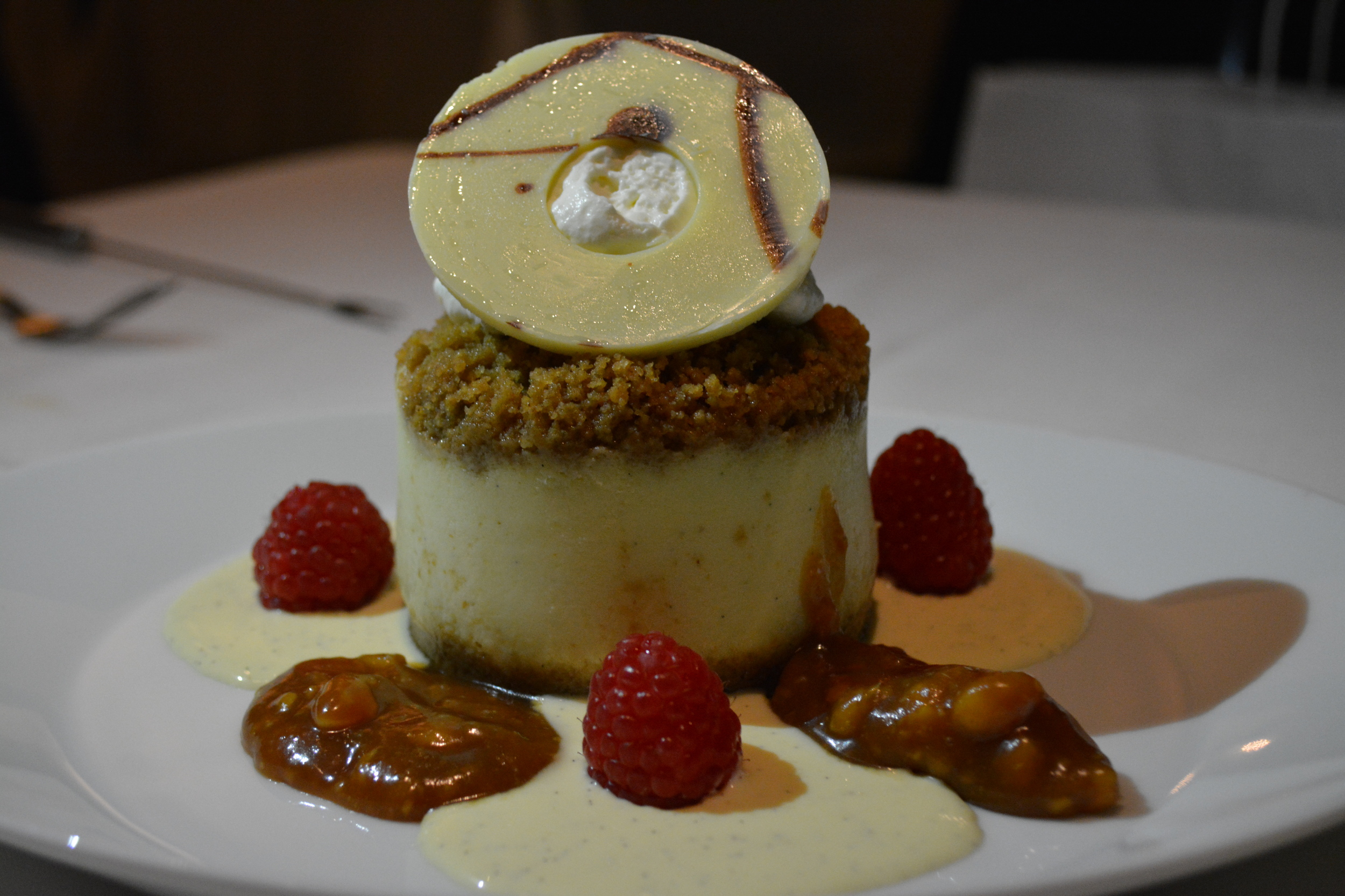 Prime's delicious cheesecake dessert item, mentioned above.
