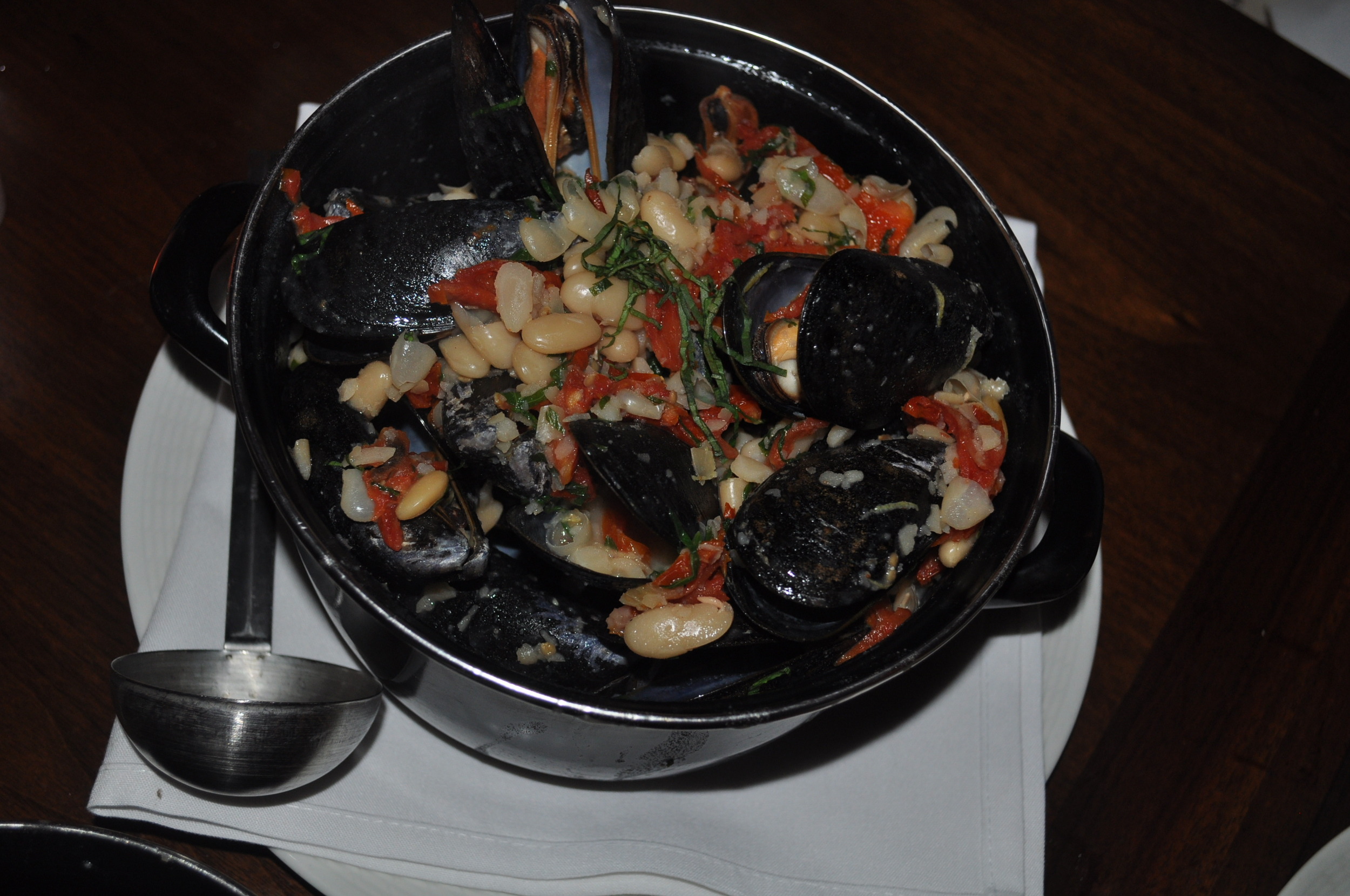 Light Tuscan mussels were added to the restaurant's 12-pot mussels rotation for the fall.
