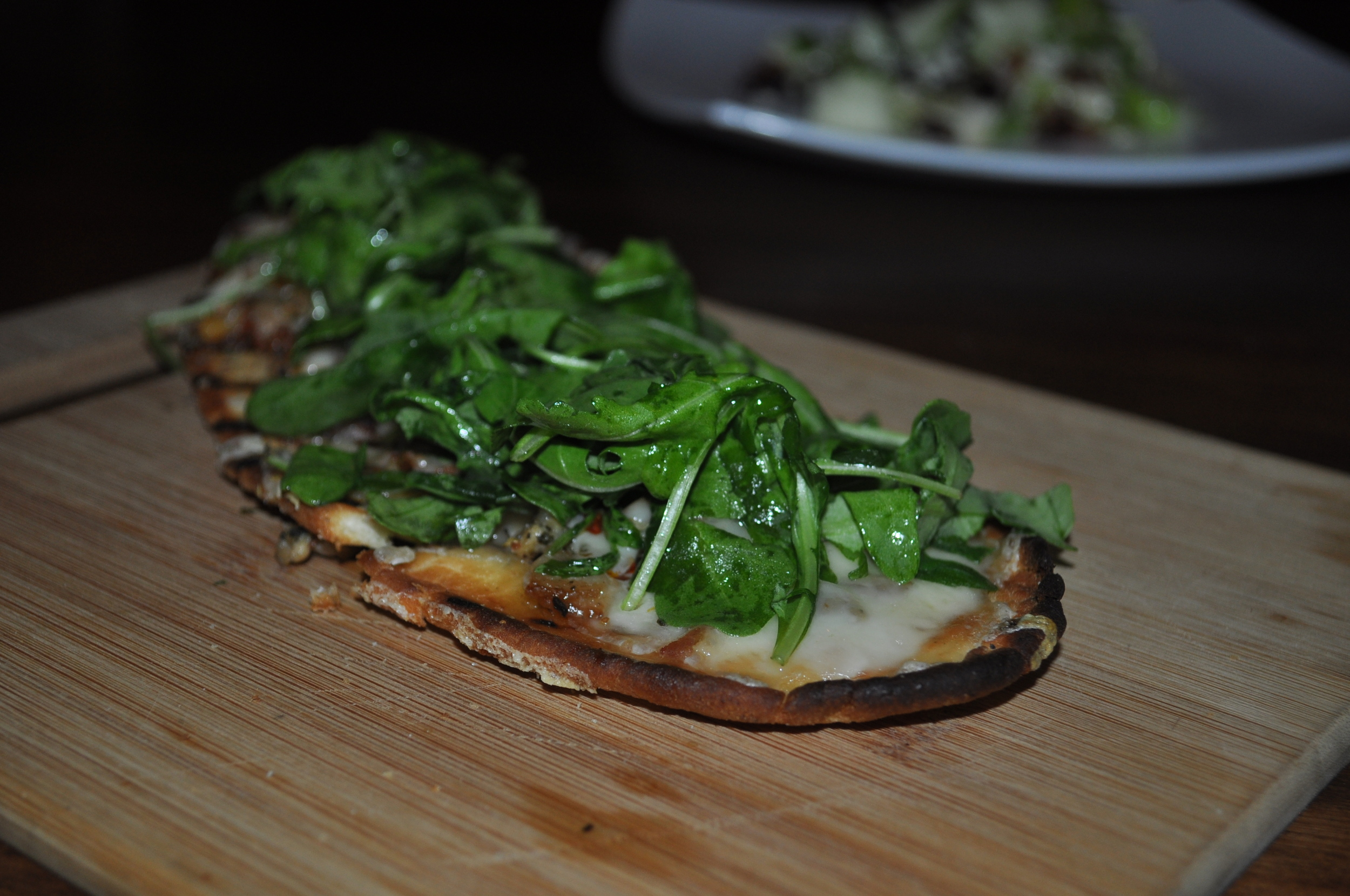 Long Island Clam Flatbread is a knockout that highlights Huntington Harbor.