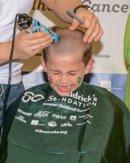 Soon, bald heads will be everywhere, with St. Baldrick's head-shaving events starting this weekend.