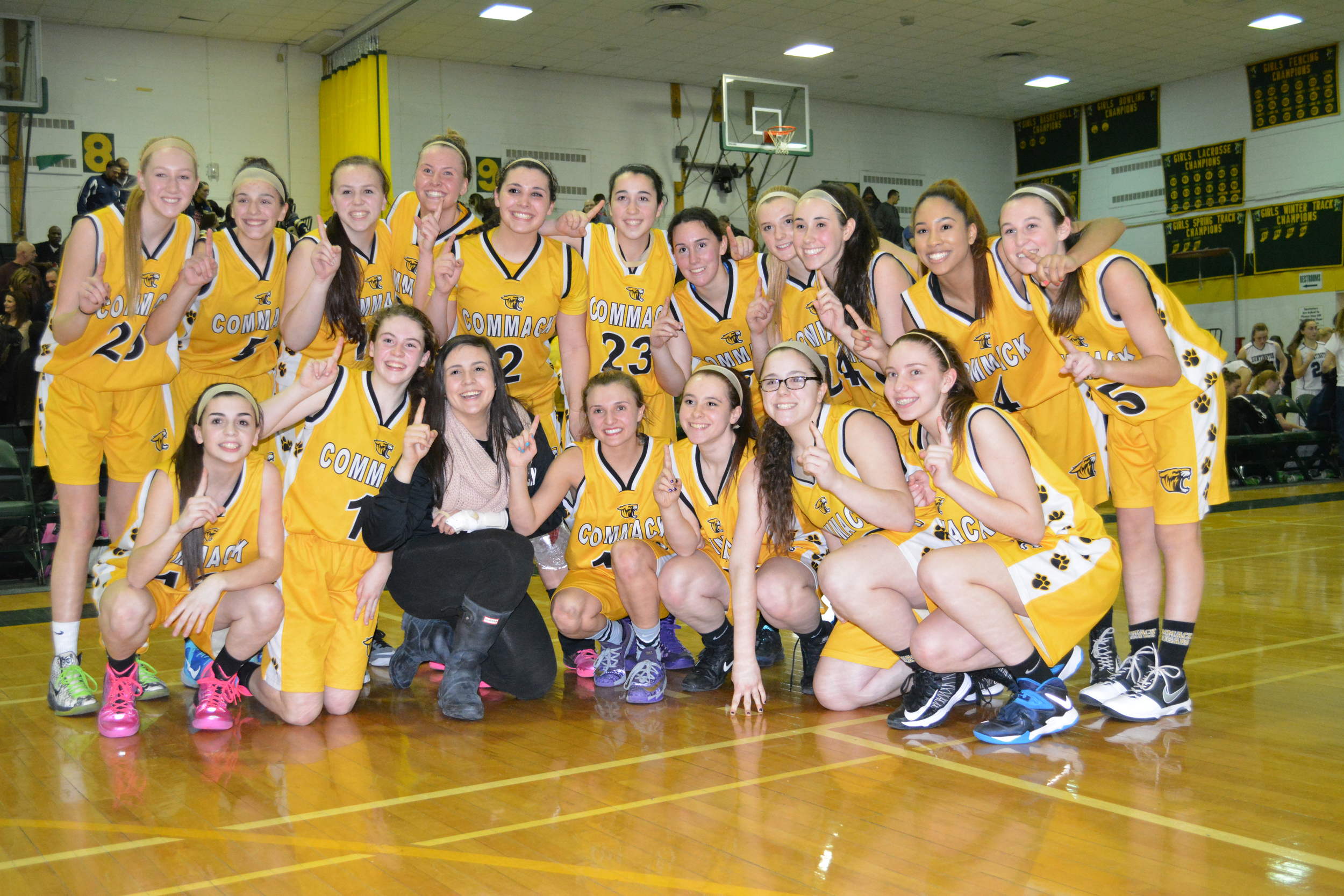 Meet the 2015 Suffolk Class AA champions: the Lady Cougars of Commack.