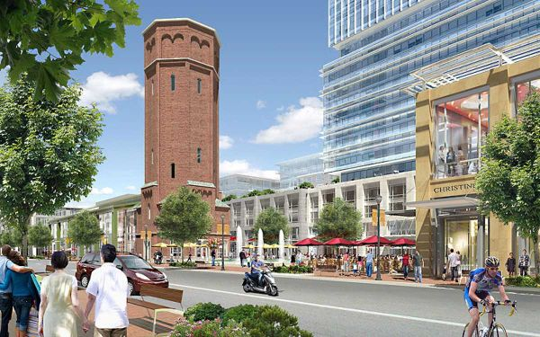 Heartland Town Square, pictured in a rendering, could be going before the Town of Islip's planning board for a hearing within a few weeks, developer Jerry Wolkoff said.