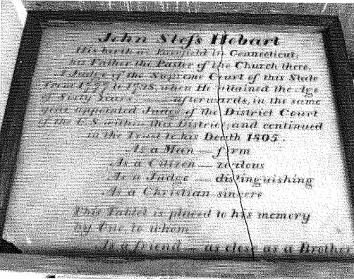 A group is requesting that the Northport-East Northport School District lend a historic memorial tablet that honors Revolutionary War figure and early American politician John Sloss Hobart to the Northport Historical Society museum for a year.