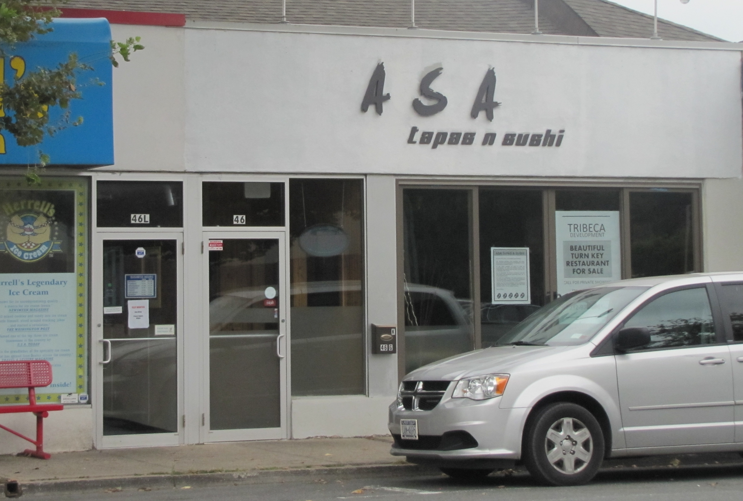 Pictured: The former storefront of Asa Tapas & Sushi in Huntington village.
