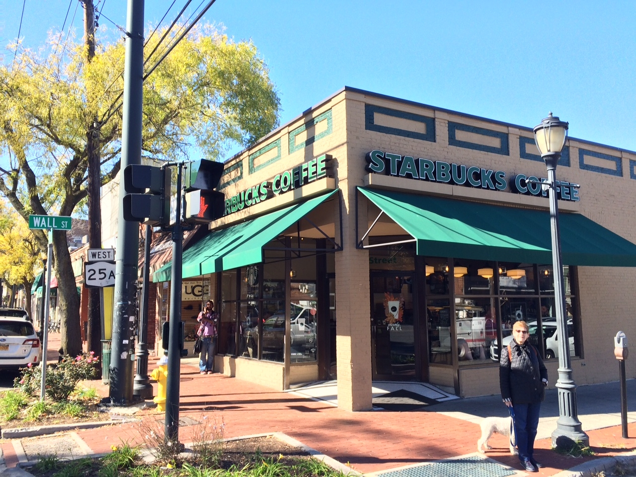 The Starbucks at 1 Wall St. in Huntington village is one of two locations in the Town of Huntington to apply for a beer and wine license.