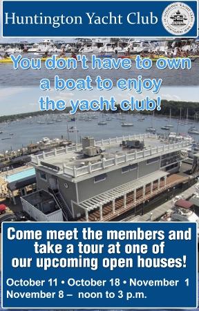 Advertisement: Huntington Yacht Club