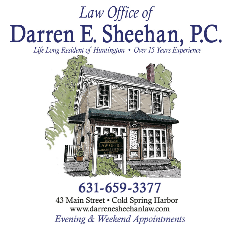 Advertisement: The Law Offices Of Darren E. Sheehan