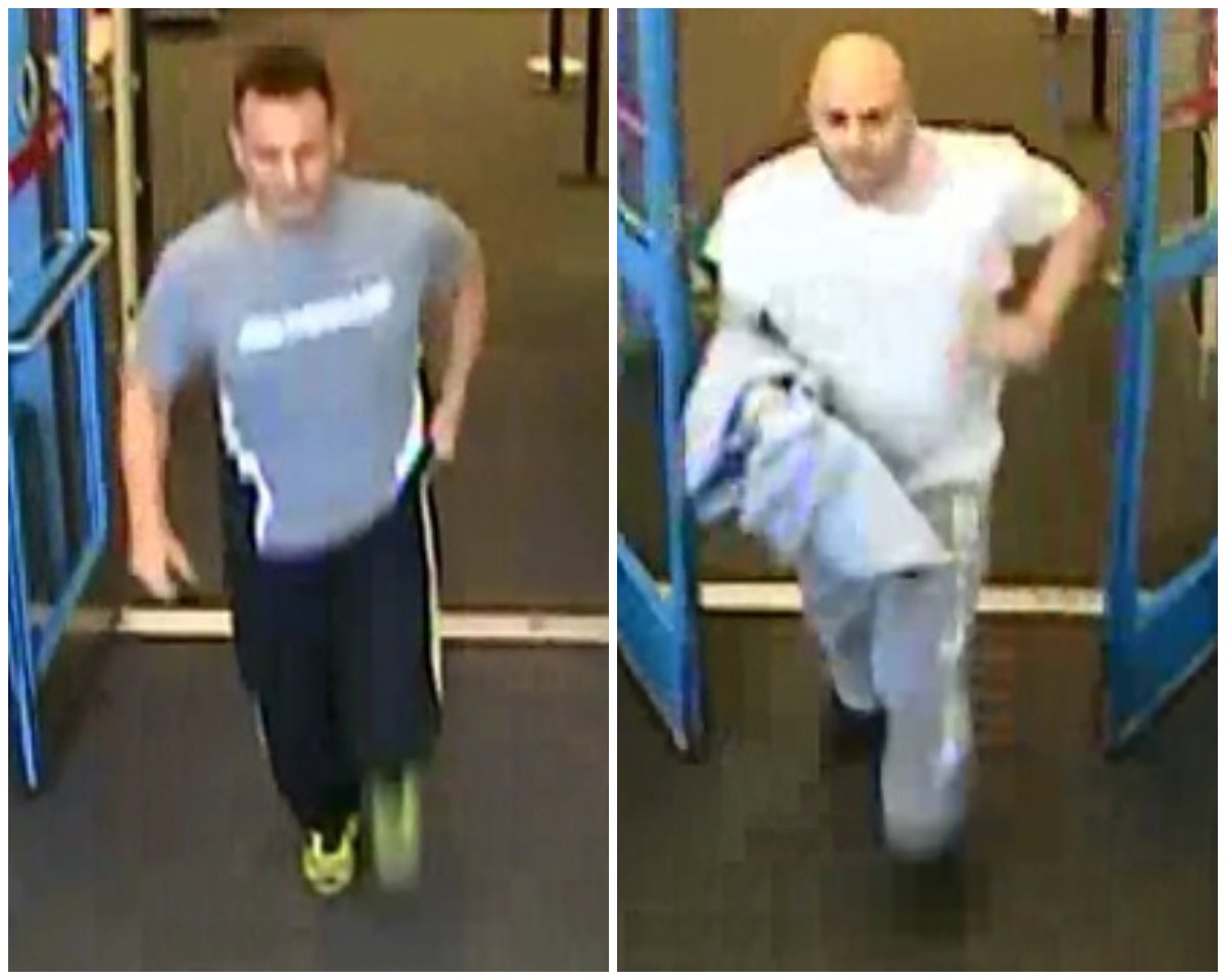 Police said the two men, pictured above, entered the Target at 4 Henry St. in Commack at around 1:45 p.m. Nov. 7 and stole $135 worth of beer, then assaulted an employee.