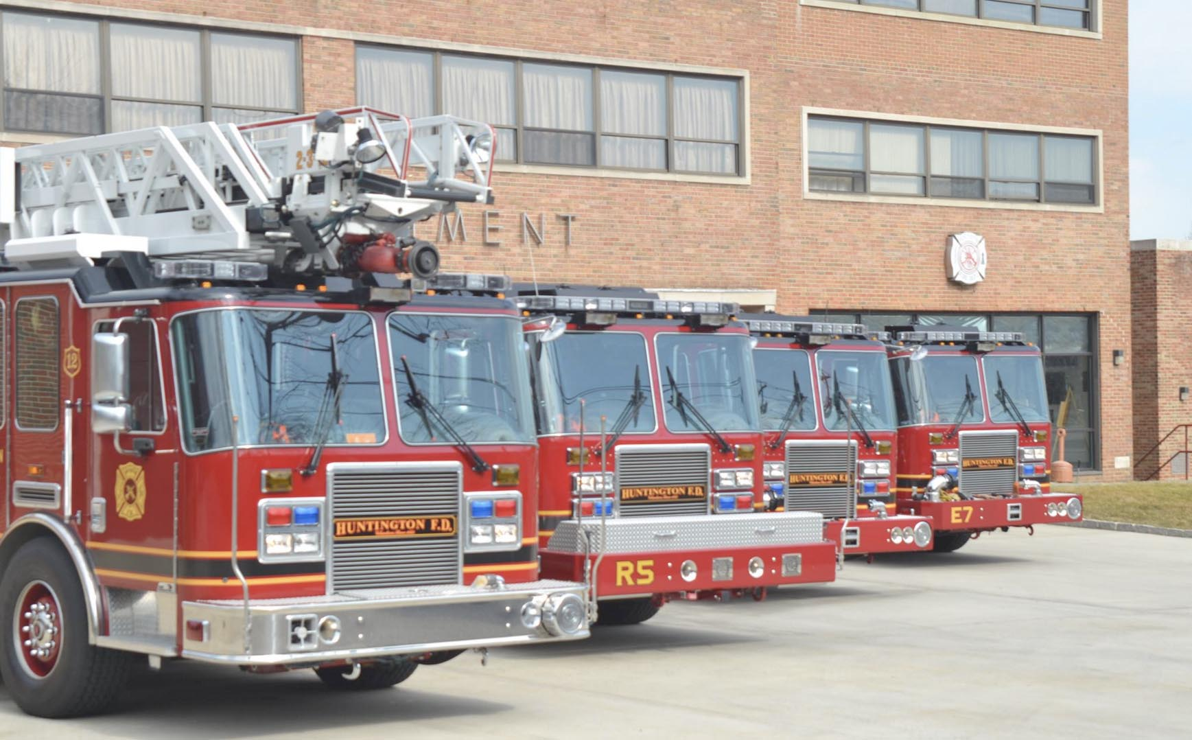 Six-term incumbent Thomas Brown is facing former chief and 31-year member of the Huntington Fire Department Jimmy C. Martin in a race for huntington fire district commissioner. credit: facebook
