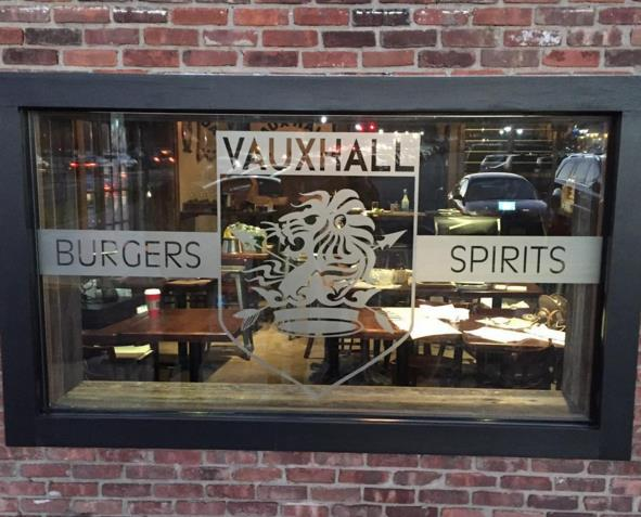 The exterior of Vauxhall in Huntington village, which officially opened for business on Dec. 3rd.