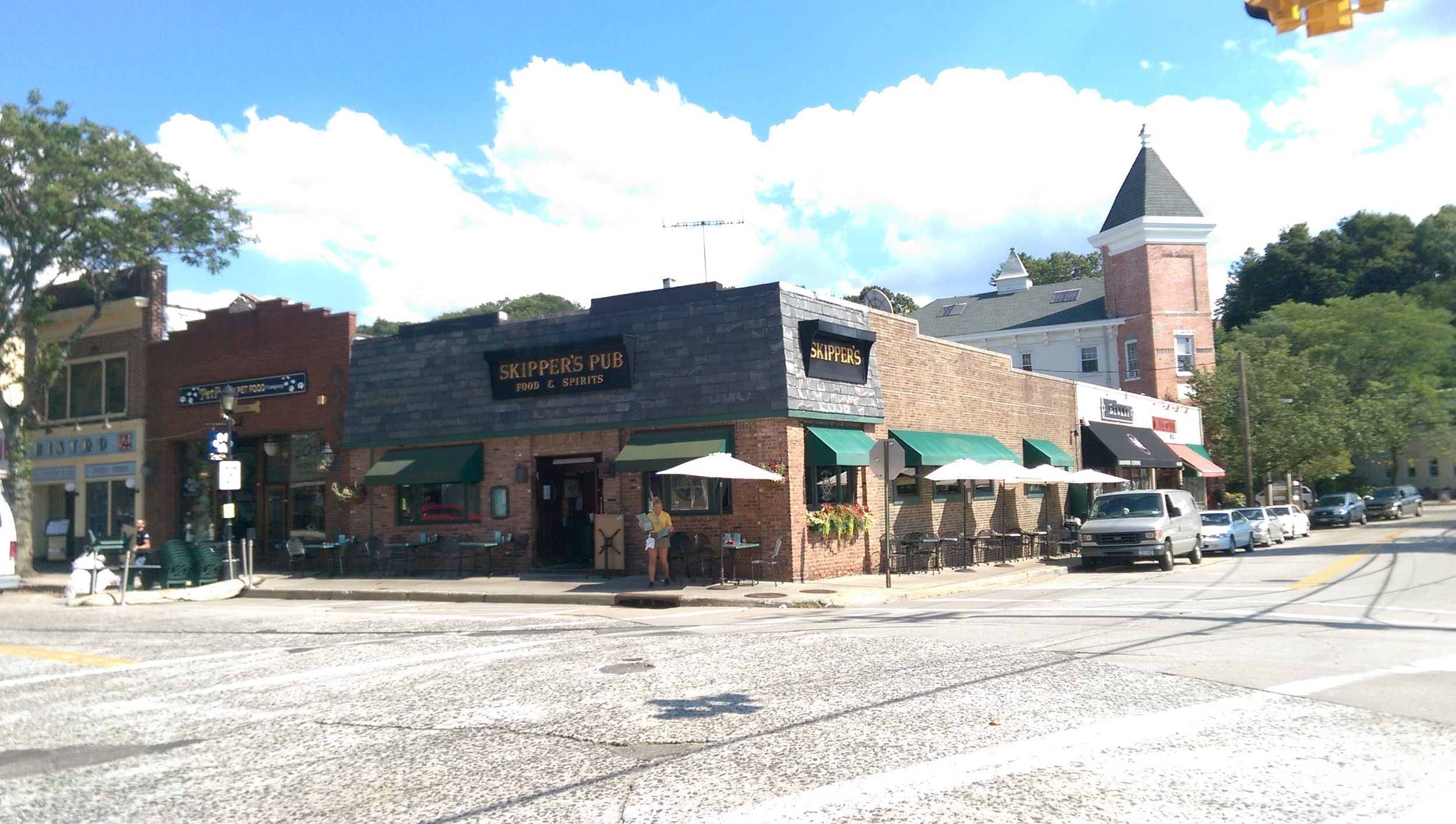 The owners of Skipper's Pub in Northport want a judge to set aside the denial of their application for rooftop dining.