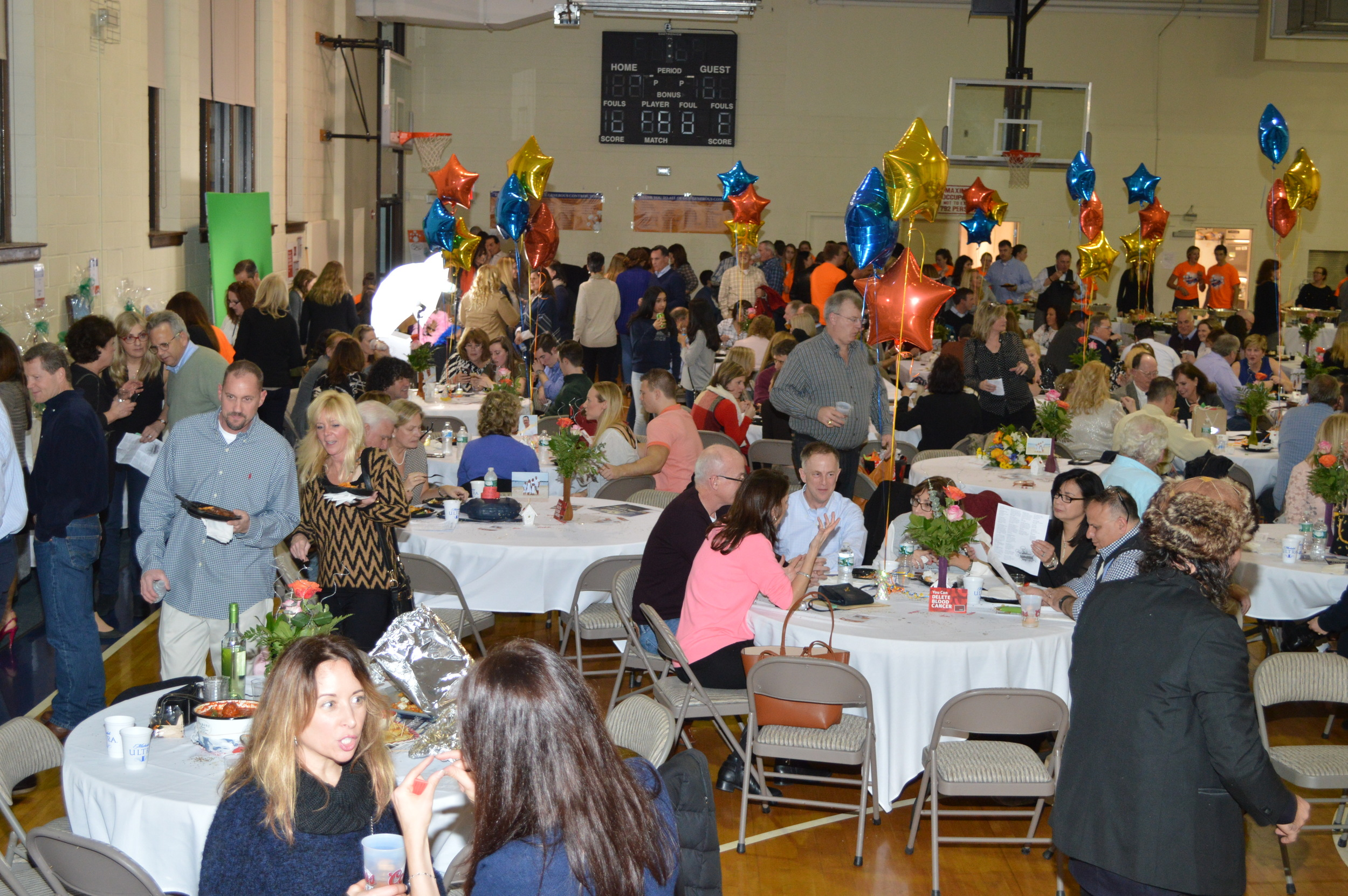 """More than 350 people attended the """"Bongiorno Blast"""" on Saturday, raising $68,000 to help pay for John and Michele Bongiorno's medical bills. (Photo by Alan Pearlman)"""