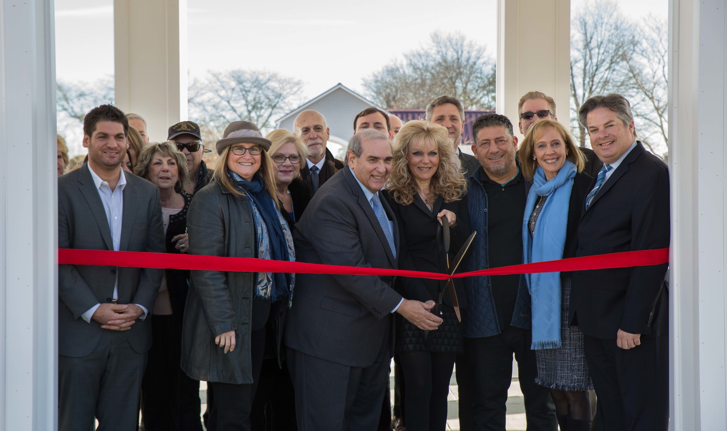 The newly constructed Club at Melville opened to the public with an official ribbon cutting ceremony on Feb. 2.