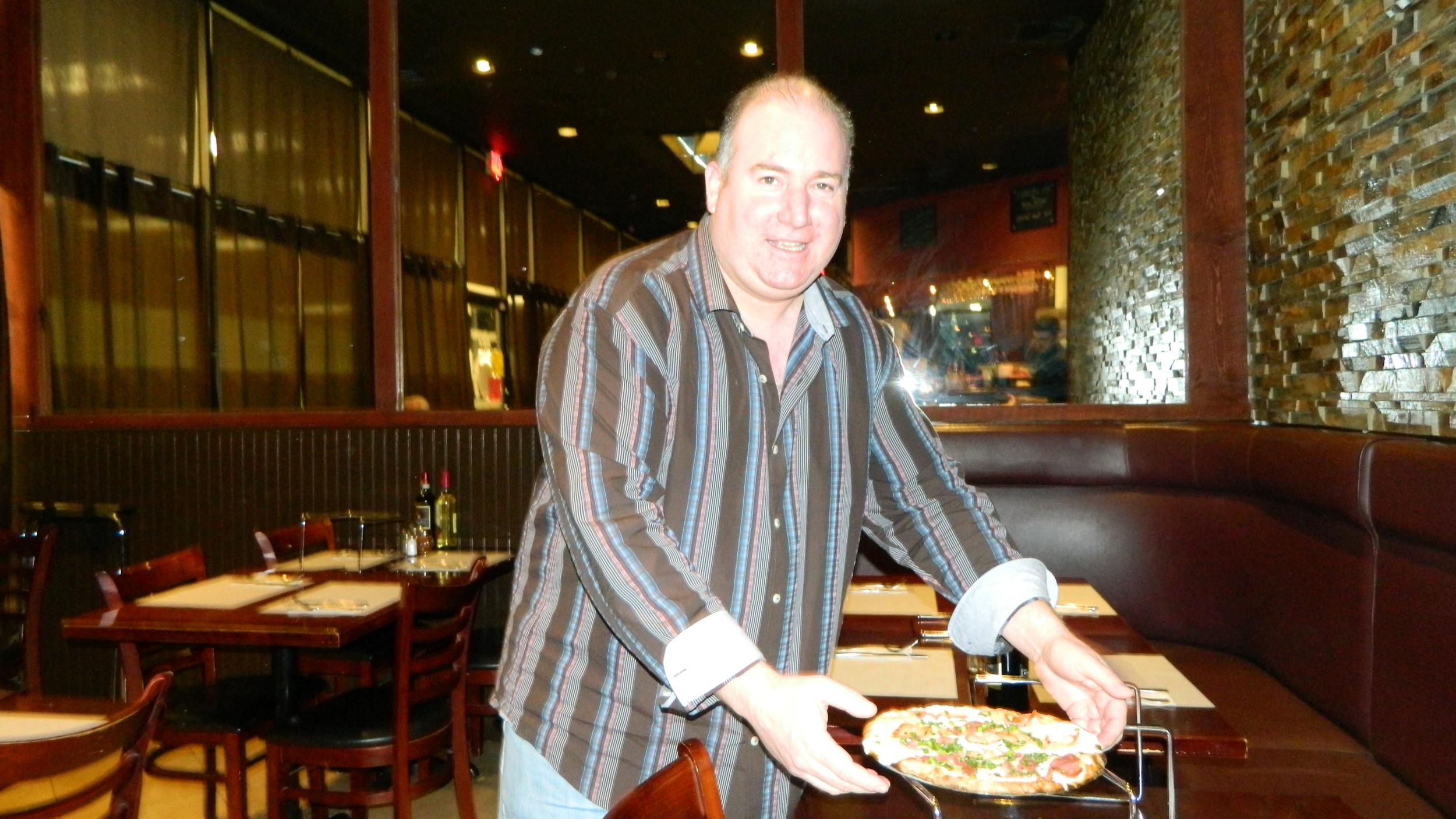 Owner Bill Massa opened his 345 Main St., Huntington pizzeria on Jan. 31, 2014.