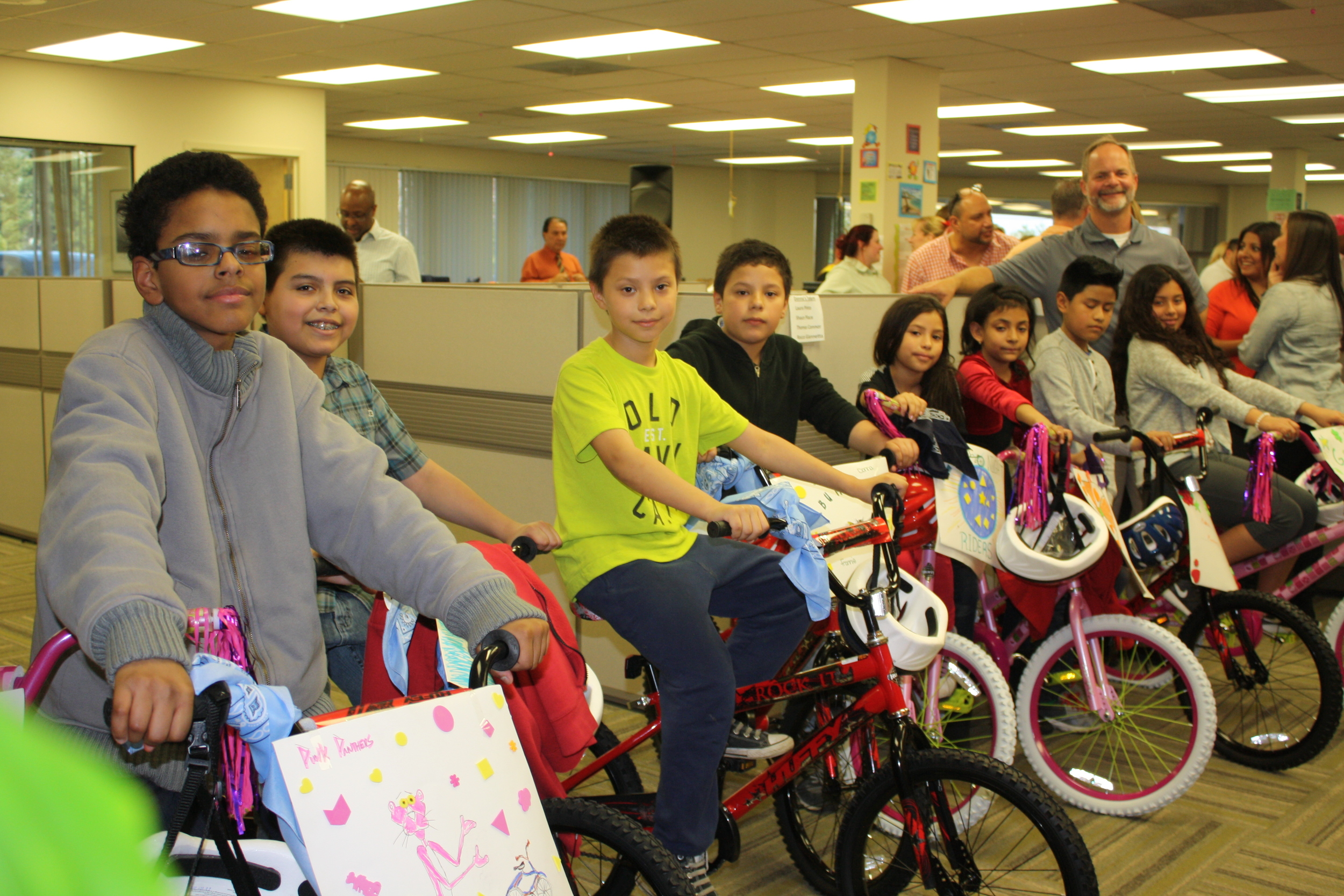Earlier this month, Minnesota-based revenue-cycle management firm Optum360 sponsored an event where employees built bicycles and donated them to 10 Melville children.