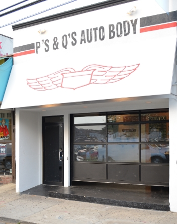 After a March 2015 fire closed it down, speakeasy-themed bar P's & Q's Autobody on New Street in Huntington village has officially re-opened.