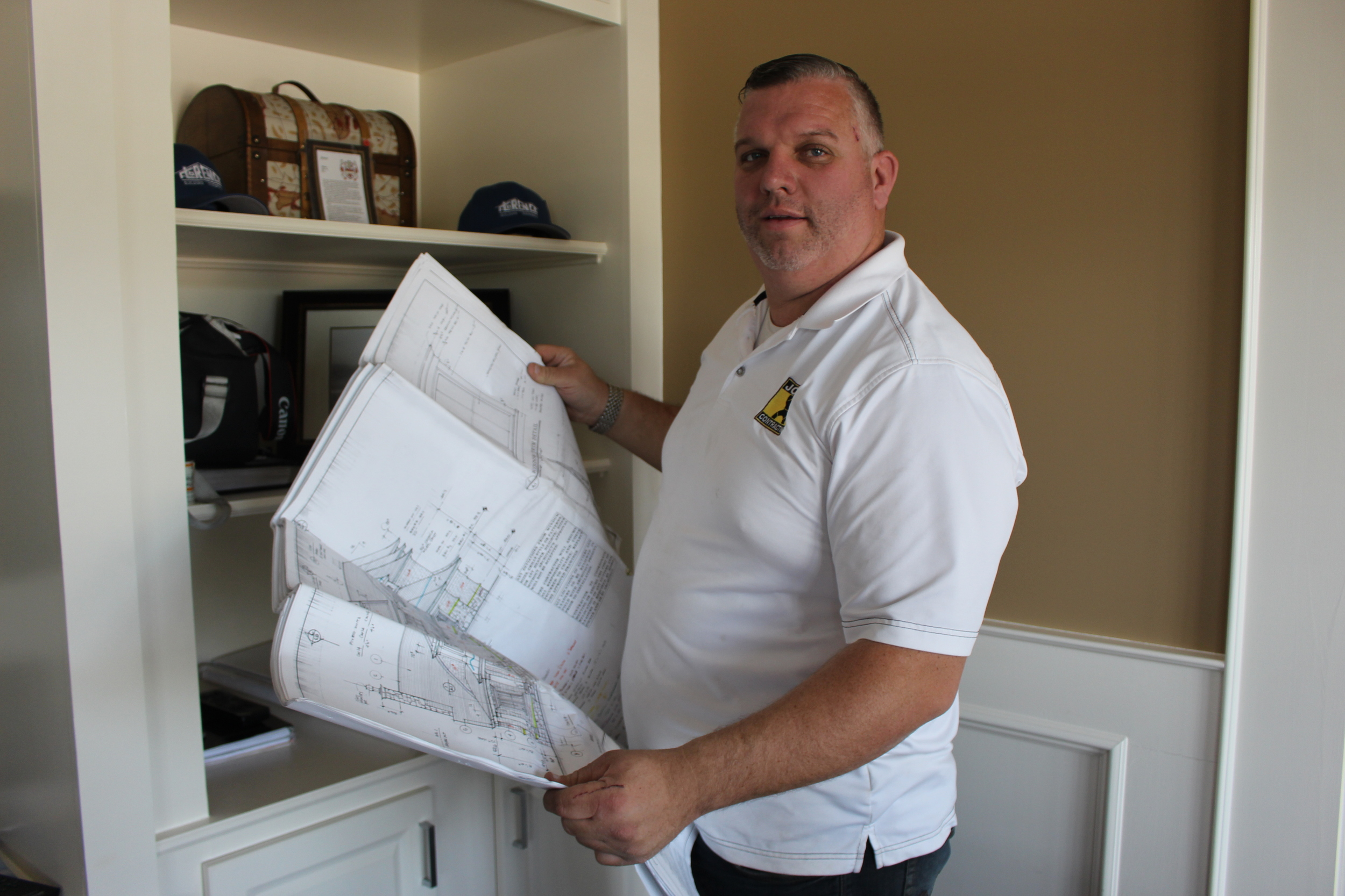 John Joyce, owner of John J. Contracting in Huntington Station, has never seen his love for the craft fade, continuing to stay heavily involved in his business 20 years later.