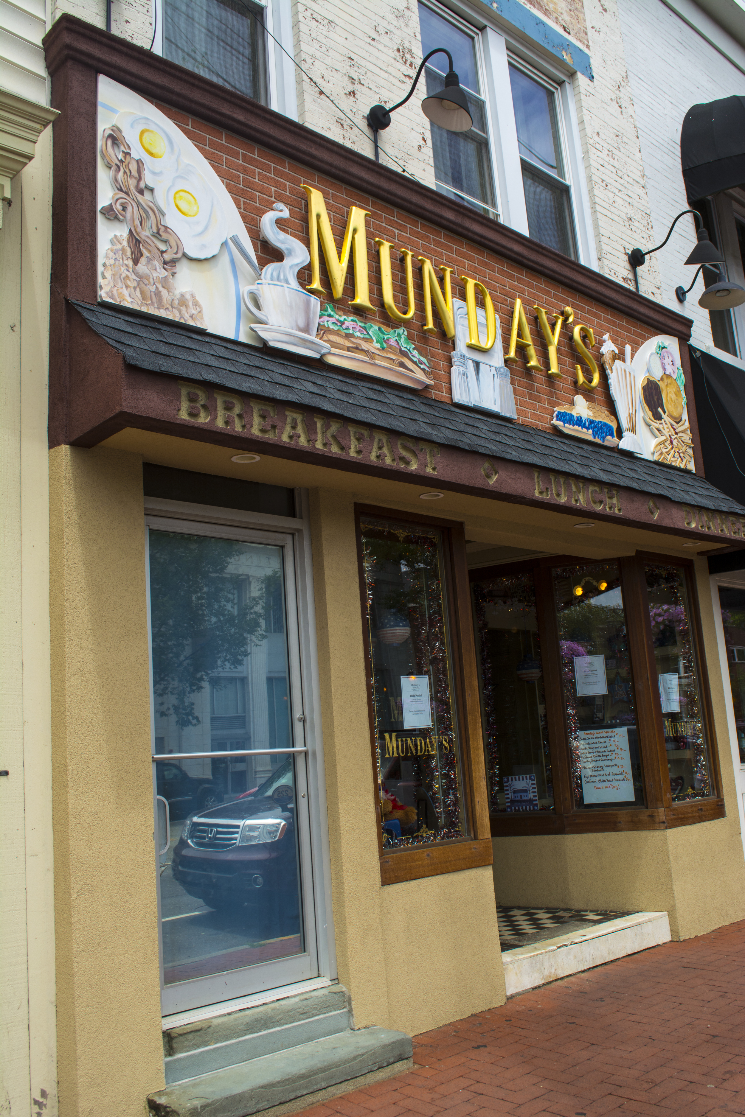 A distinct '60s diner-feel with plenty of tables, booths and seats at the counter, not to mention friendly faces are found at Munday's in Huntington village.