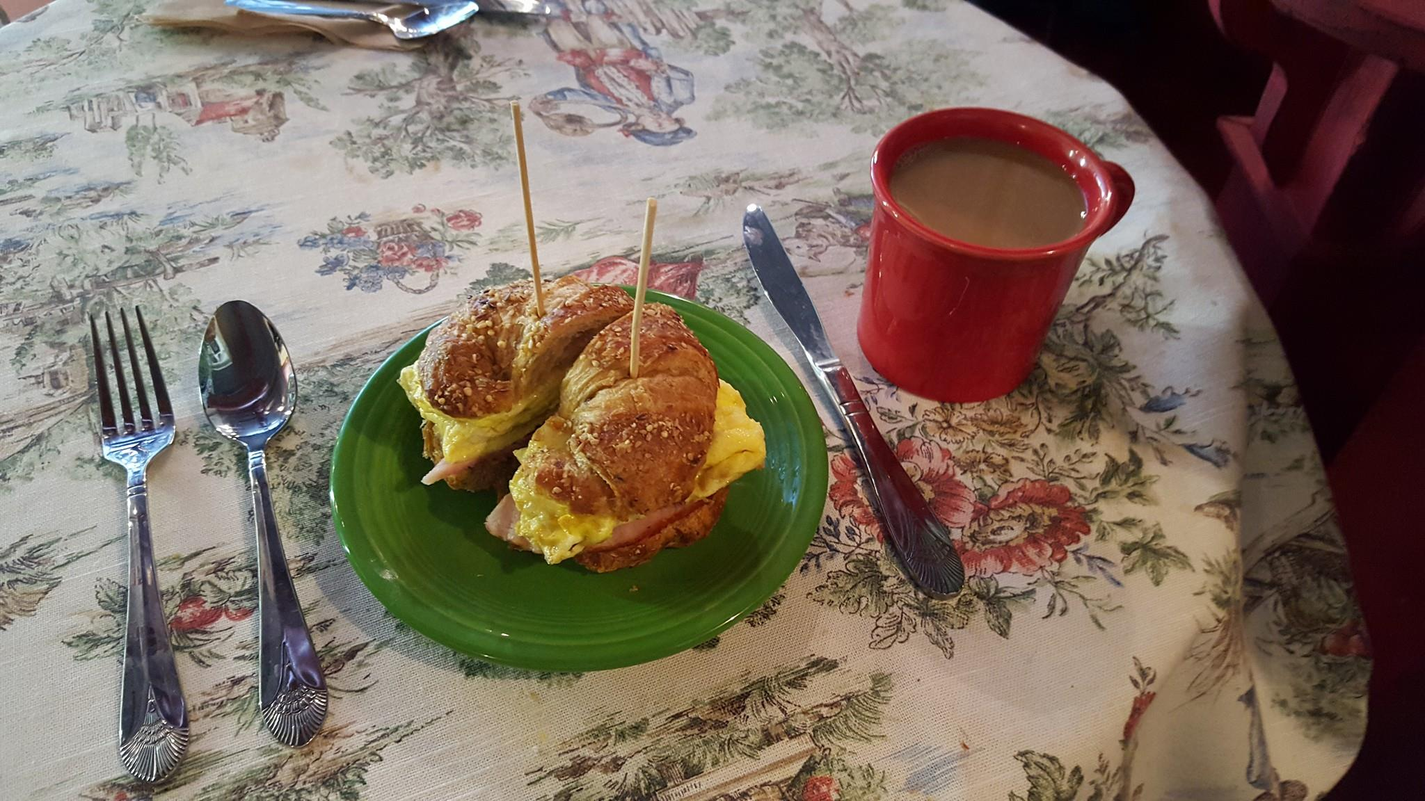 At Cause Café in Northport, Wednesday is buy one, get one half off breakfast sandwiches if you follow the café's Facebook page and mention it to the staff.  Photo/Facebook