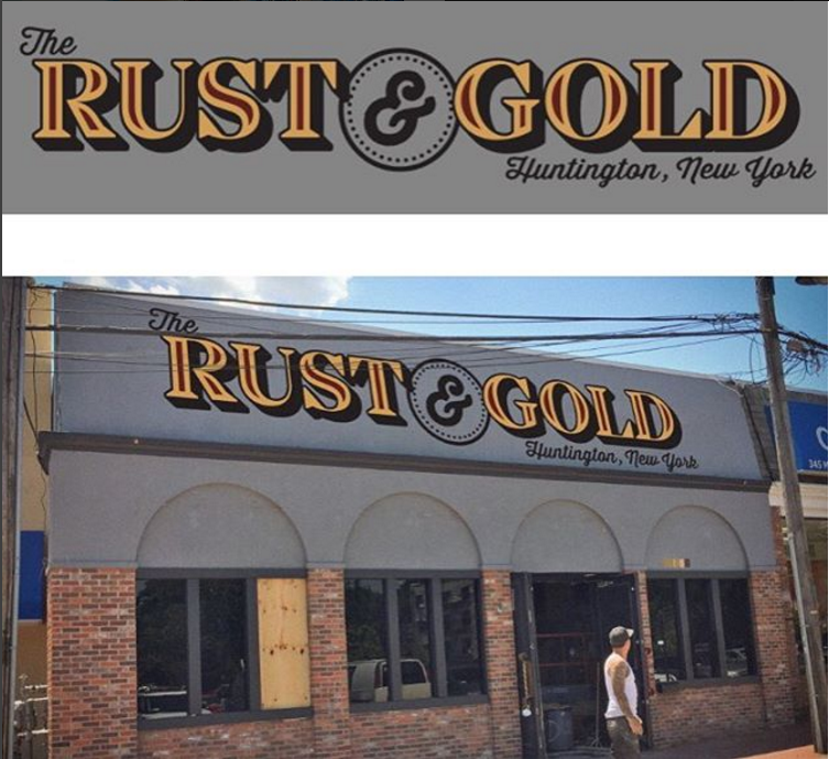 Rust & Gold spots bar is primed to open on Gerard Street in Huntington village at the former location of Rookies Sports Club is slated to open next month, according to co-owner Frank Antonetti. Photo/Instagram/@therustandgold