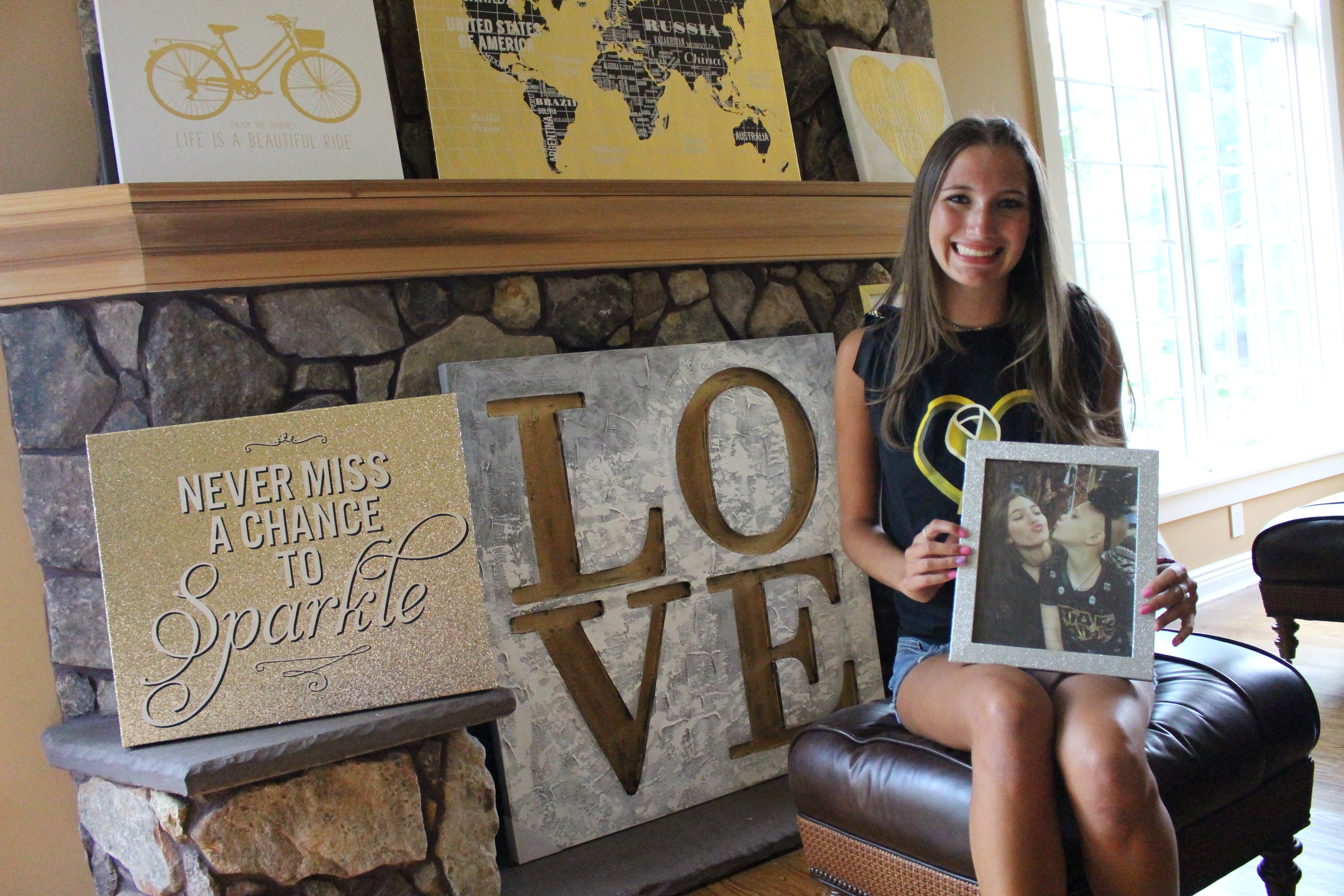 Jordan Belous, 17, of Melville, has raised more than $41,000 in funds within the first year of her Whip Pediatric Cancer campaign, which benefits benefit pediatric cancer research.