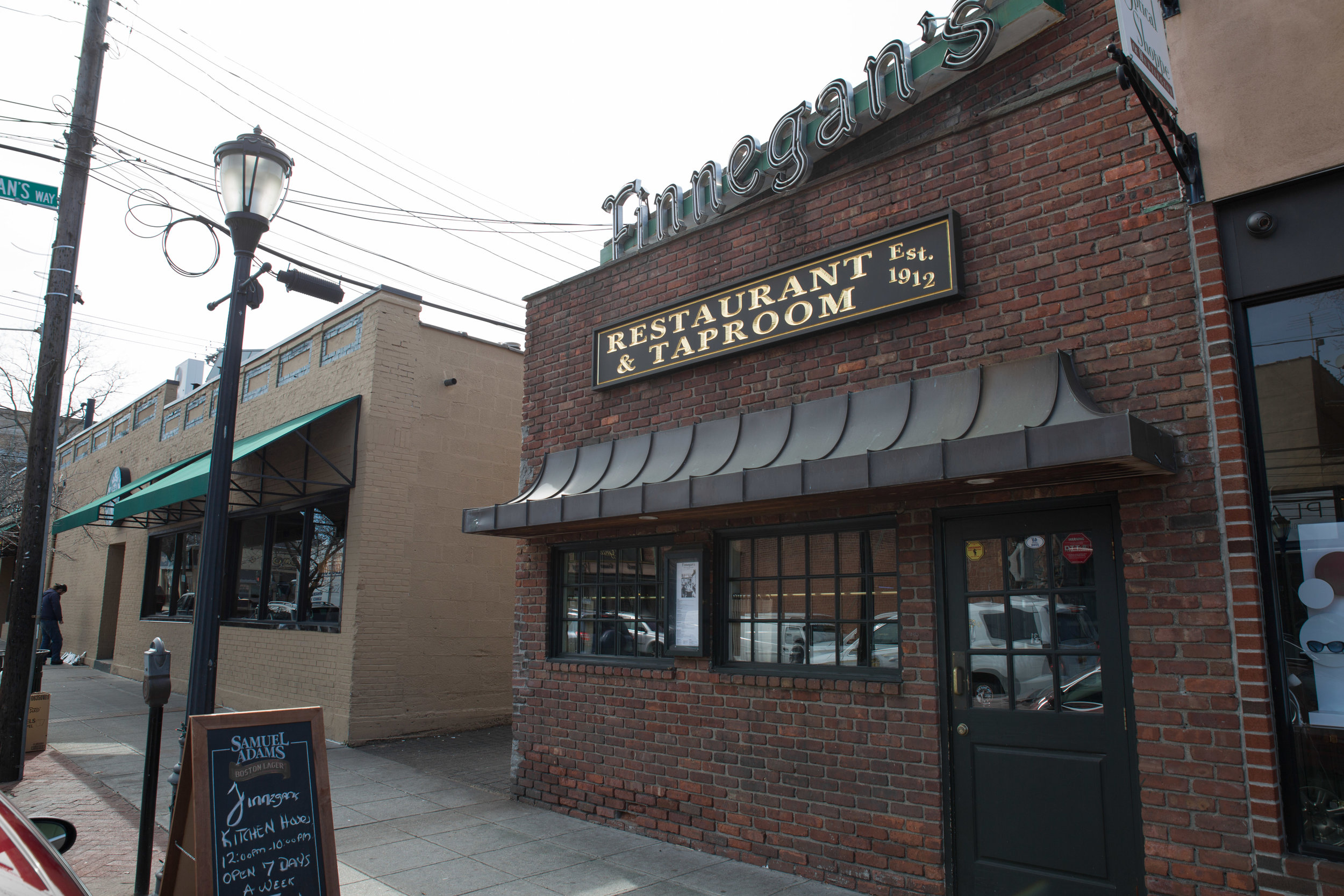 Finnegan's Restaurant and Tap Room was established in 1912, serving as not only a source of delicious delights and drinks, but also as a community center for the Town of Huntington