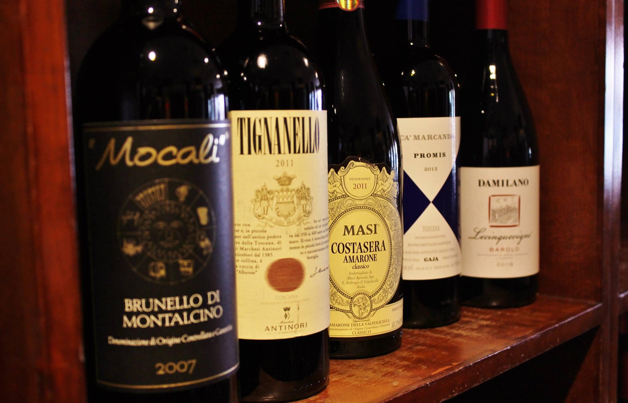Take 30 percent off bottles of wine at Jonathan's Ristorante on Sundays and Thursdays.