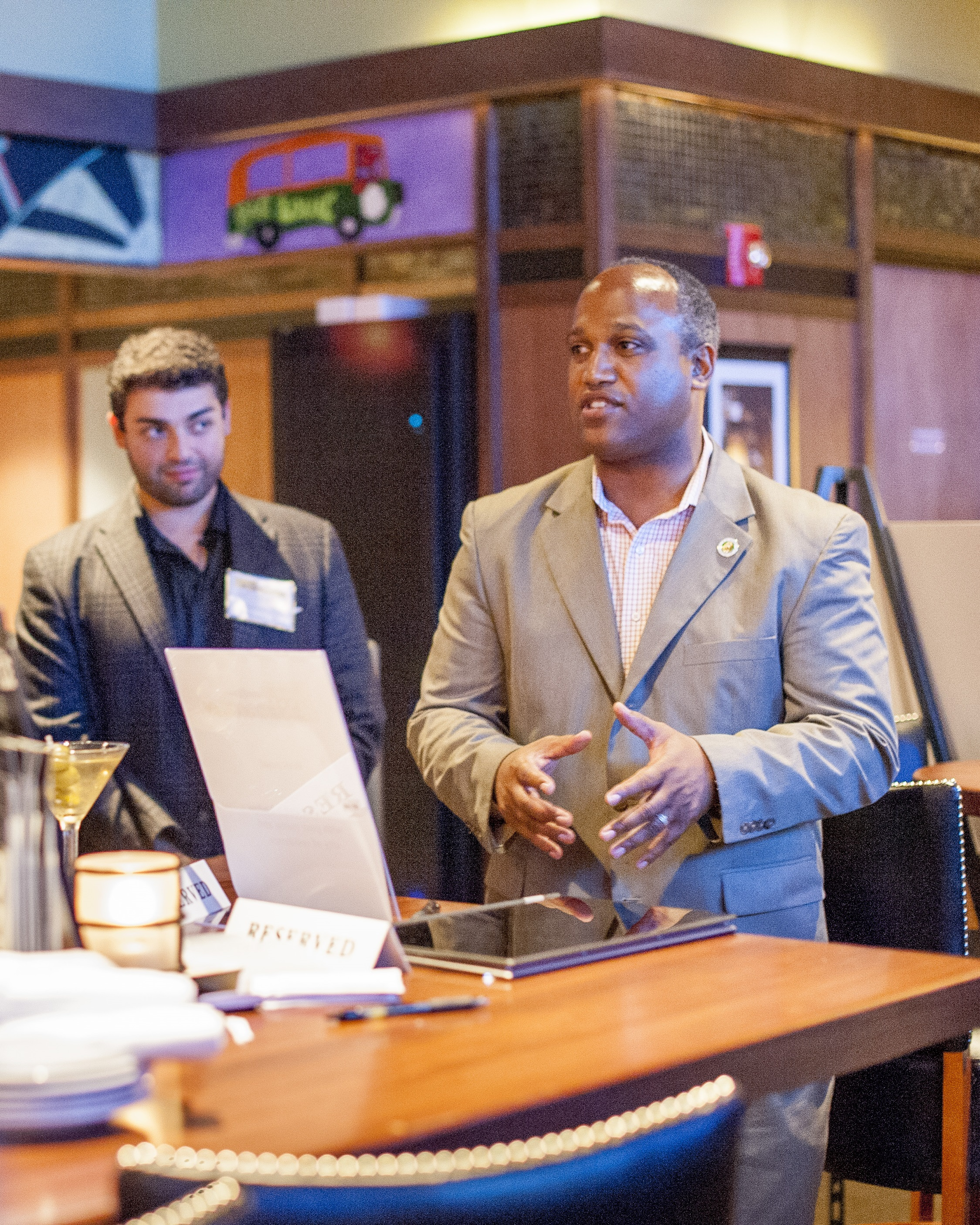 Suffolk County Legislator DuWayne Gregory, right, seeks to establish the Next Generation Advisory Council to help the county's youth have more direct access to government.