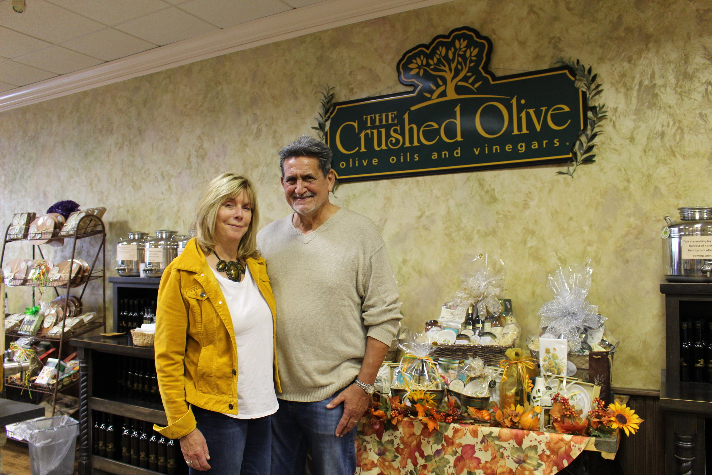 Mona and Bob Rossero, owners of The Crushed Olive, have been expanding their business on Long Island ever since they opened their Huntington location in 2011.