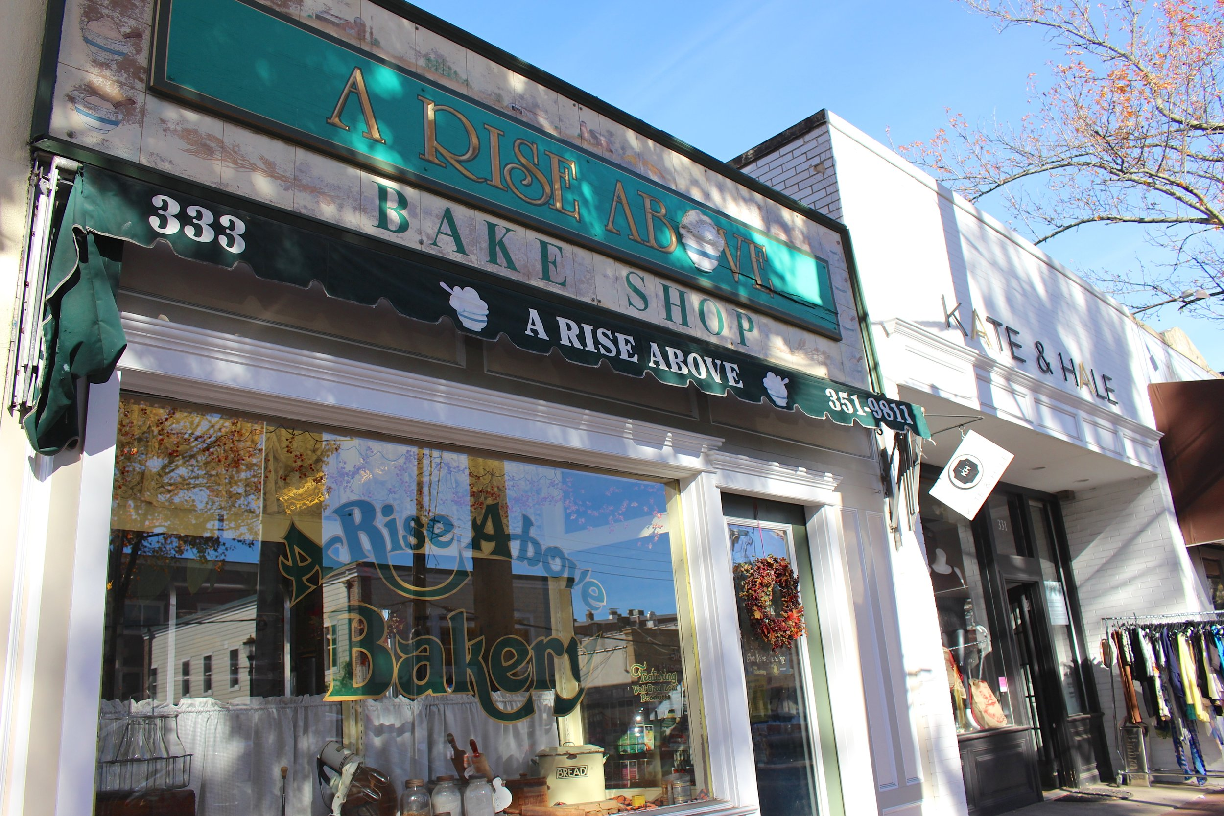 A Rise Above Bake Shop has been serving the Huntington community for 37 years.