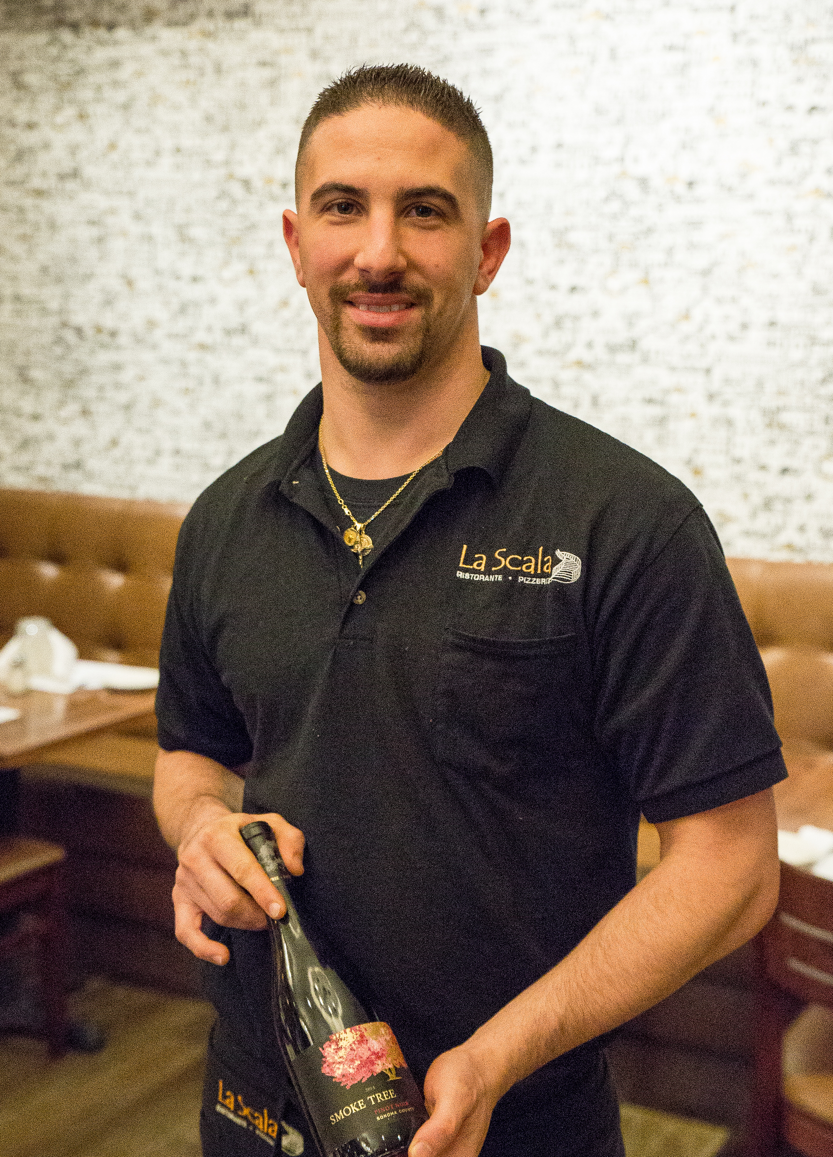 Christopher Castelli started at La Scala restaurant in 2003 as a busboy and dedicated himself as he worked his way up to being a co-owner.