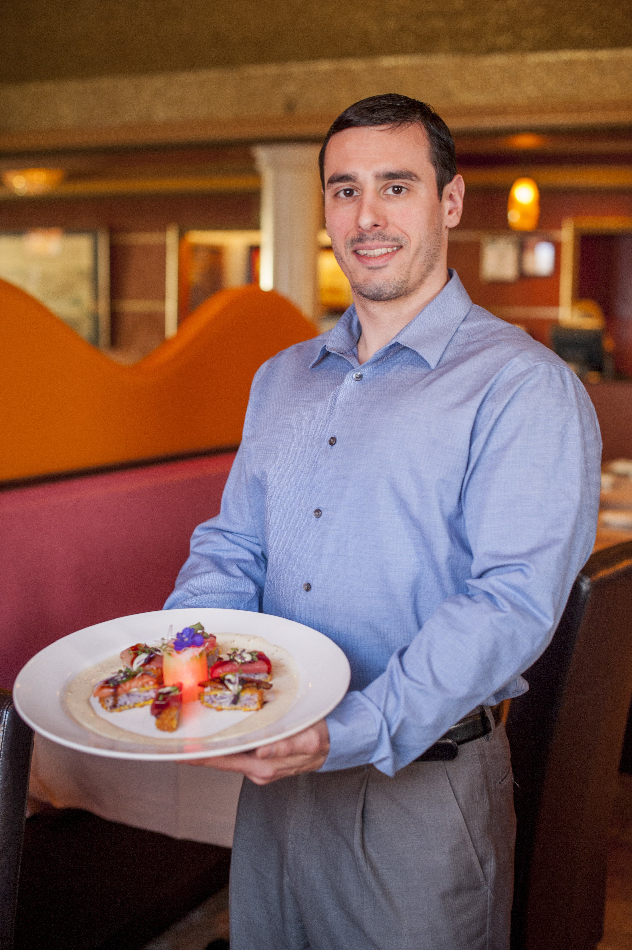 General Manager Colin McGlone says he strives to maintain personal relationships with all of his guests at Ting, with most of the diners returning time and time again.