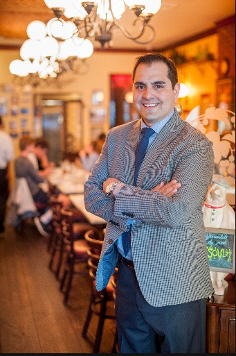 General Manager gabriel garcia said bistro cassis' cuisine draws from all regions of france, but focuses on Parisian delights.