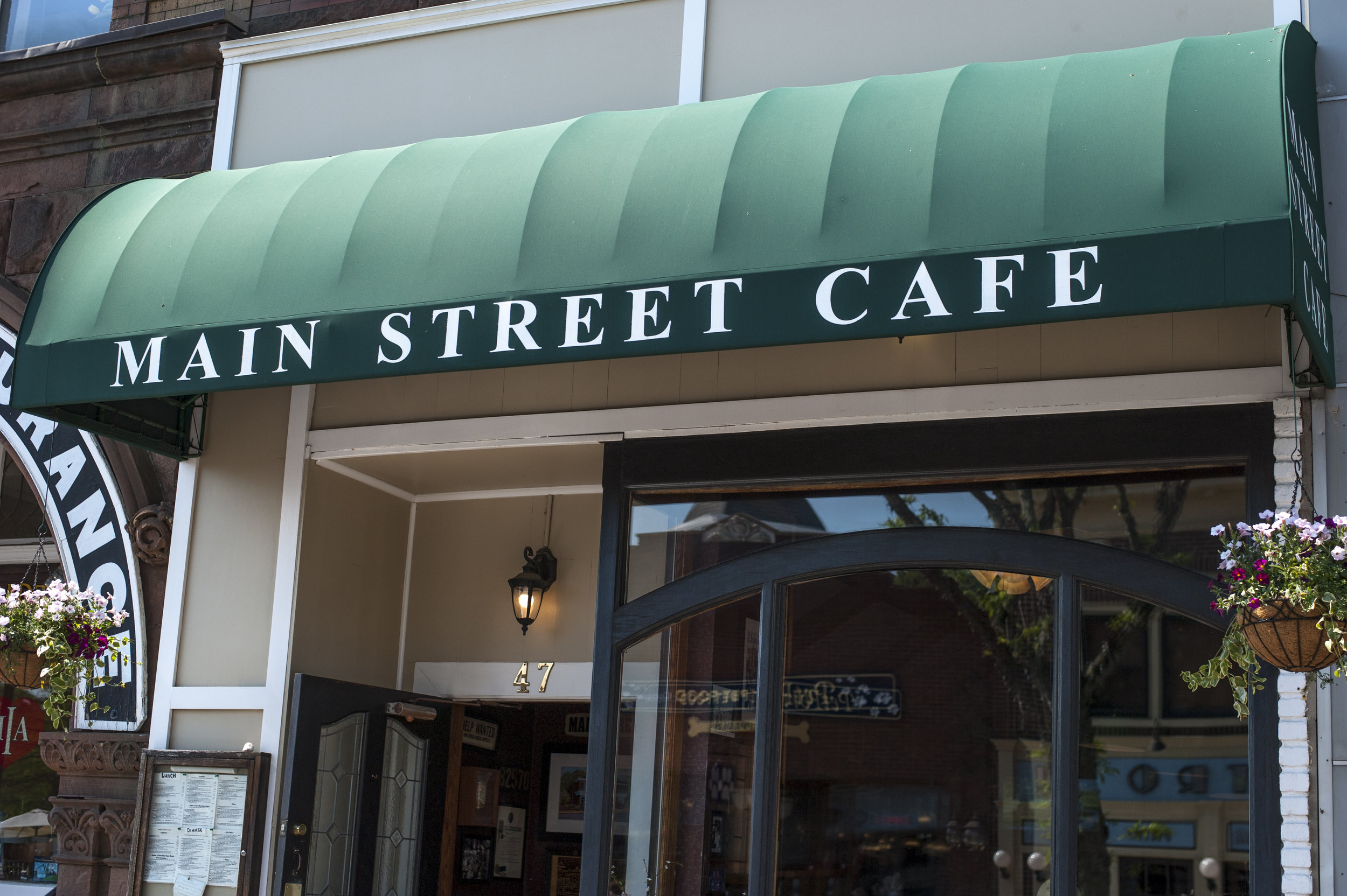 Long Islander News photos/David Weber  The Main Street Cafe has operated for more than three decades, serving up tasty treats and classic entrees at its 47 Main Street location.
