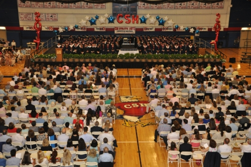 Photos by Christine Oswald  Cold Spring Harbor High School held its graduation ceremony on Sunday, as 176 students of the 2017 class said their final good-byes at Cold Spring Harbor.