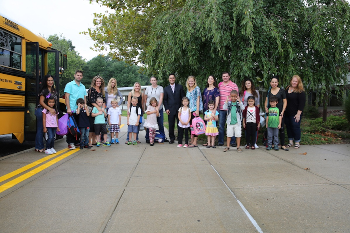 South Huntington School District welcomed back students on Wednesday.   Photo/South Huntington School District