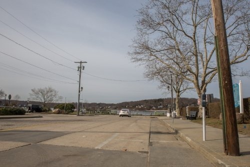 The western end of Main Street before Northport Harbor.