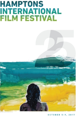 This year's Hampton International Film Festival Poster celebrating the Festival's 25th Anniversary.