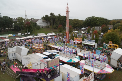 The Long Island Fall Festival comes to Heckscher Park in Huntington over Columbus Day weekend.  Long Islander News Photo/File