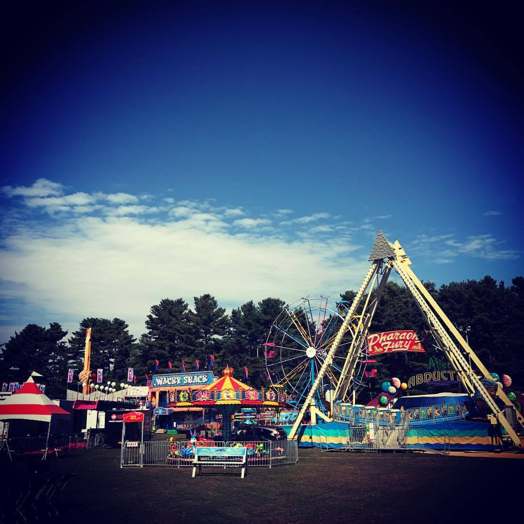 Thousands enjoyed the carnival in Heckscher Park in Huntington over Columbus Day weekend.  Photo Courtesy of Huntington Township Chamber of Commerce