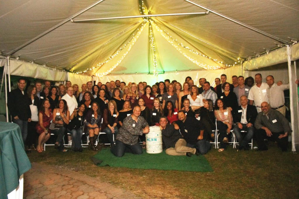 Nearly 100 members of the Harborfields High School Class of 1987 attend its 30th class reunion on Saturday.   Photo Courtesy of John Tilden