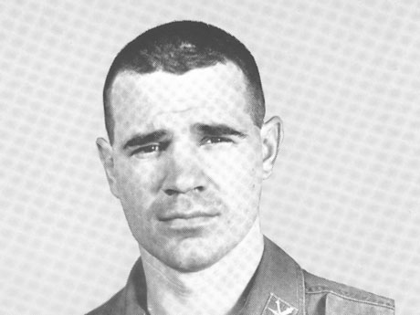 """Hon. W. Gerard """"Jerry"""" Asher when he served in the U.S. Army in the 1960s."""