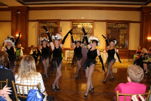 Members of the dance group, The Red Hot Mamas, perform during last year's Women's Networking Day at the Larkfield in East Northport.