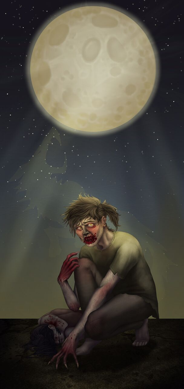"""Survivor's Guilt,"" by Alexandria Goodman, of East Northport.  Photo Courtesy/Huntington Arts Council"